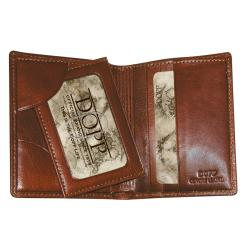 Dopp Men's Elegant Simplicity Executive Bi-fold Wallet