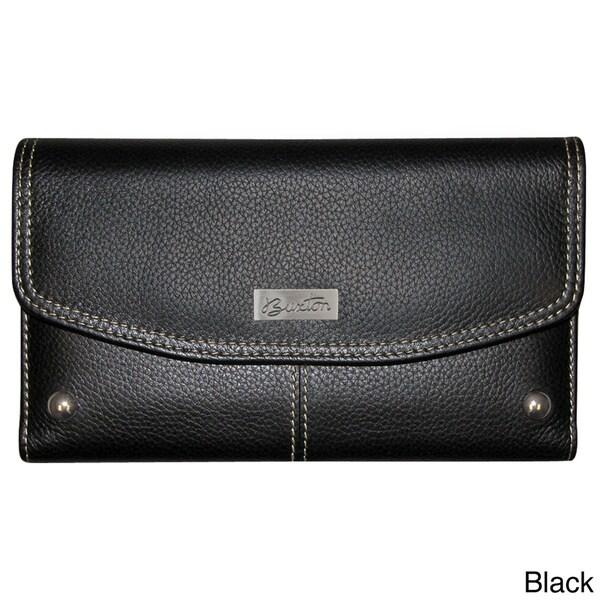 Buxton Westcott Checkbook Clutch Wallet