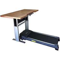 Signature 9000 Mahogany Treadmill Desk
