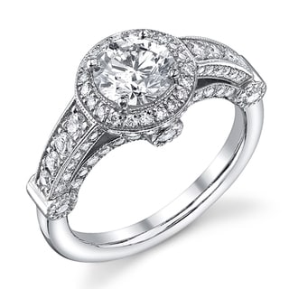 14k White Gold 1 2/5ct TDW Diamond Engagement Ring (I-J, SI2)