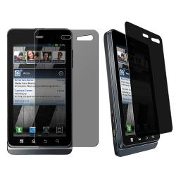 LCD Privacy Screen Filter Protector for Motorola Droid 3 XT862