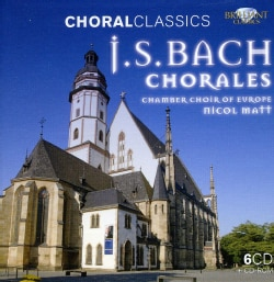 Chamber Choir Of Europe - Bach: Chorales (Choral Classics Series)