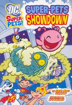 Super-Pets Showdown (Paperback)