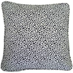 European Woven Animal Print Decorative Throw Pillow
