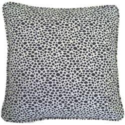 European Woven Animal Print Decorative Throw Pillow