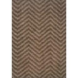 Hayworth Brown/ Grey Transitional Area Rug (9'10 x 12'9)