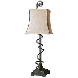 Wrapped Spiral Buffet Lamp