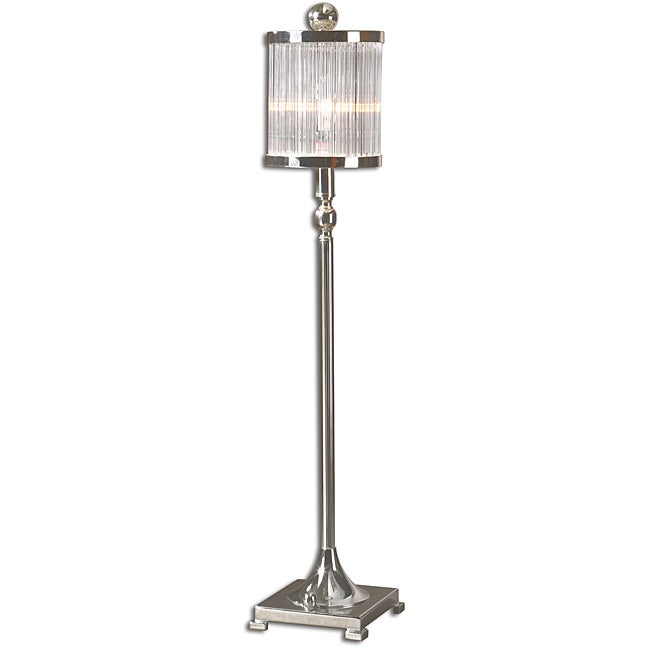 Uttermost Indoor Cordelia Silver Plated Buffet Lamp