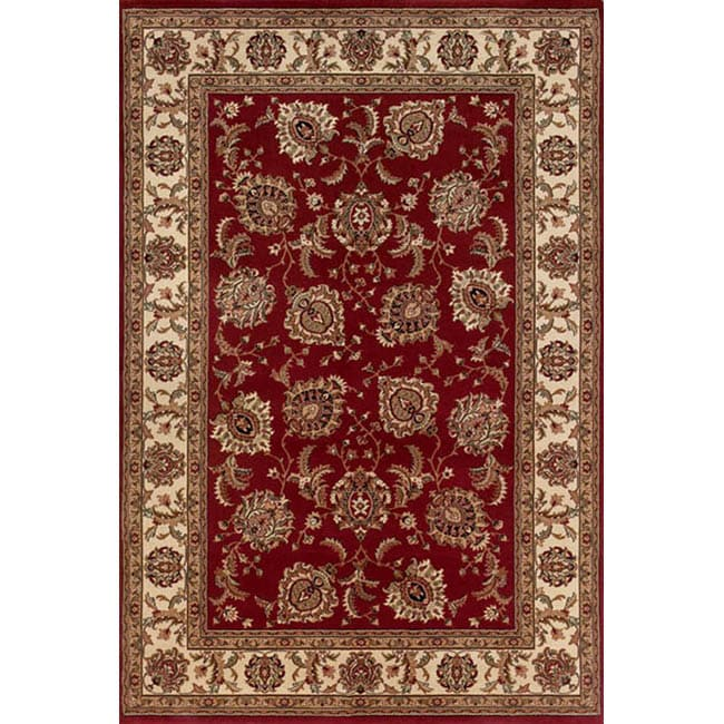 Style Haven Astoria Red/ Ivory Oriental Area Rug (10' x 12'7) at Sears.com