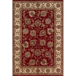 Astoria Red/ Ivory Oriental Area Rug (10' x 12'7)