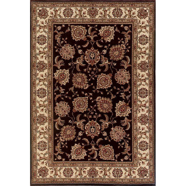 Style Haven Astoria Brown/ Ivory Traditional Area Rug (10' x 12'7) at Sears.com