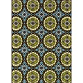 Blue/Green Outdoor Area Rug (8'6 x 13')