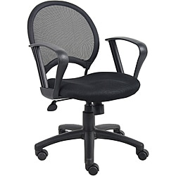 Boss Mesh Back Task Chair with Loop Arms