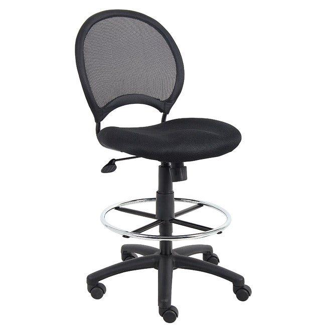 Boss Mesh Back Drafting Chair 13934009 Overstock Com