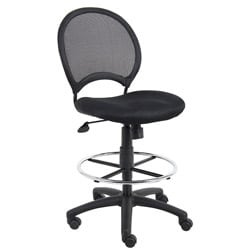 Boss Mesh Back Drafting Chair