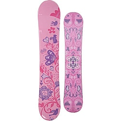 Dub Women's Pink Sola 149cm Snowboard