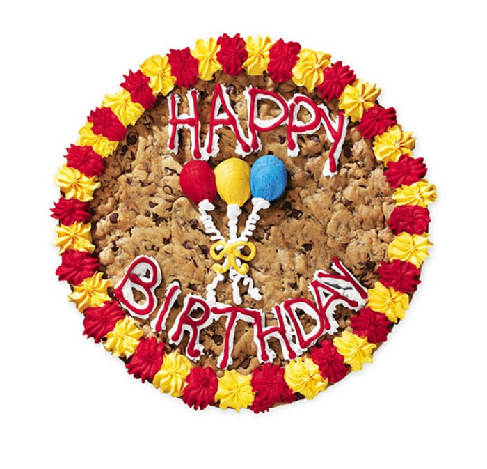 Mrs. Fields Happy Birthday Cookie Cake