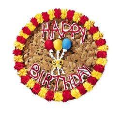 Mrs. Fields Happy Birthday Cookie Cake