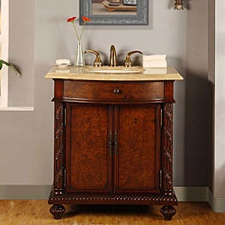Silkroad Exclusive Single-sink 36-inch Bathroom Vanity