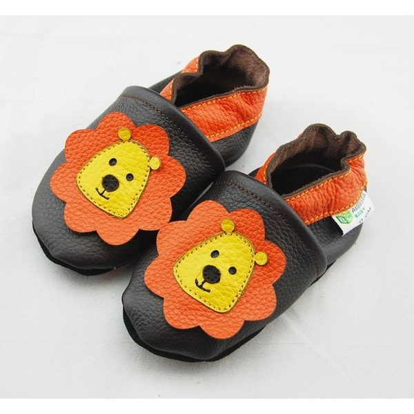Lion Soft Sole Leather Baby Shoes