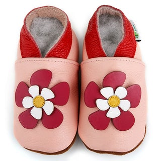 Hawaii Flower Soft Sole Leather Baby Shoes