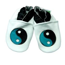 Zen Soft Sole Leather Machine Washable Baby Shoes