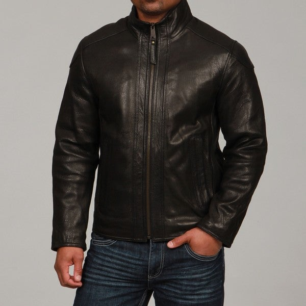 Marc New York Men's Leather Jacket - Overstock Shopping - Big