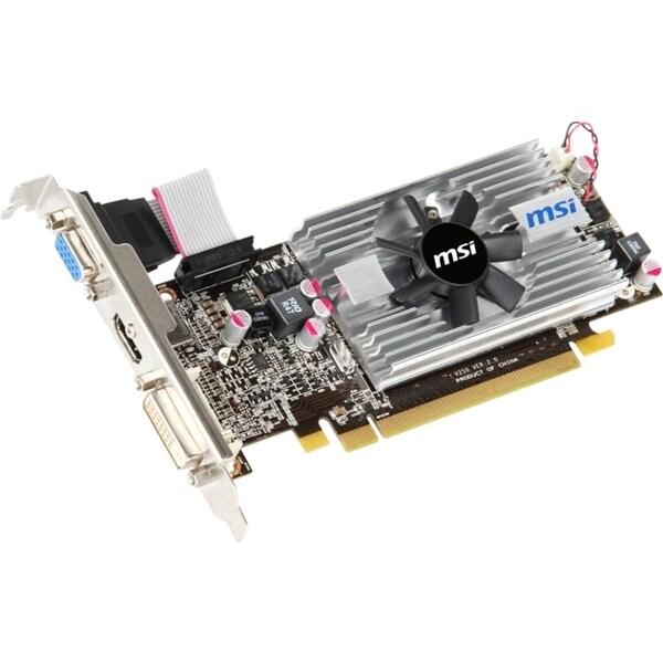 MSI R6570-MD2GD3/LP Radeon HD 6570 Graphic Card - 650 MHz Core - 2 GB