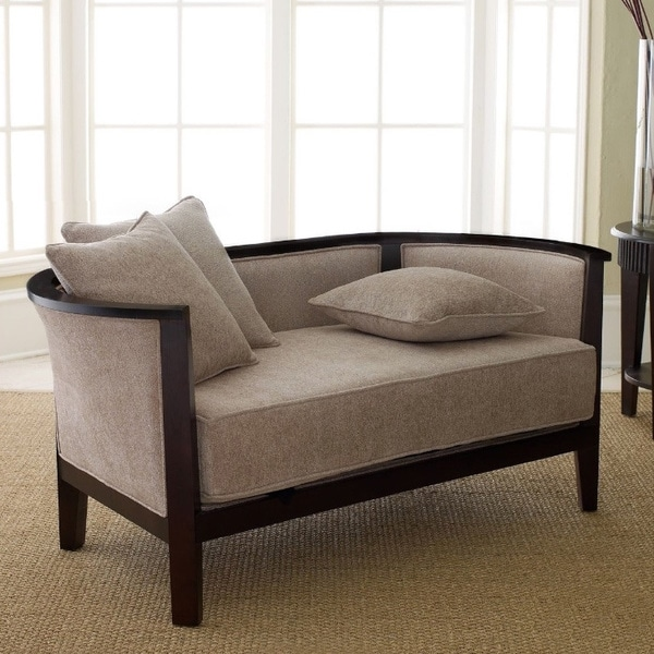 ABBYSON LIVING Morgan Solid Hardwood Loveseat