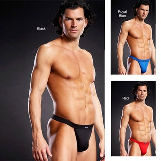 Emaje Men's Performance Microfiber Thong (Set of 3)
