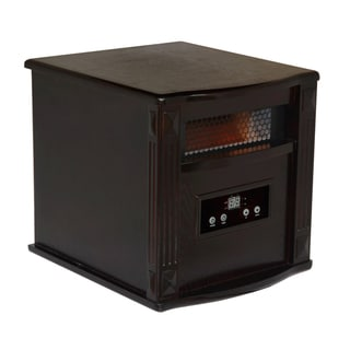 American Comfort Espresso Brown Portable Infrared Heater w/ Remote