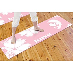 FANMATS University of Iowa Yoga Mat