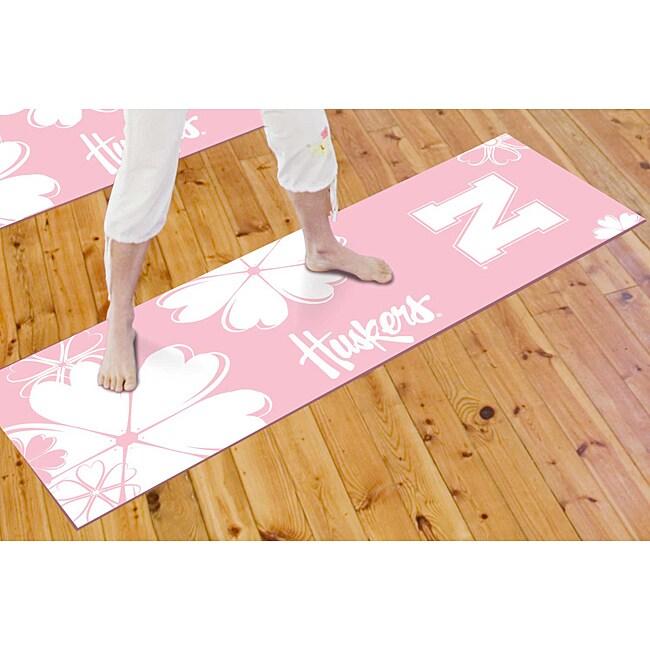 Fanmats University of Nebraska Yoga Mat