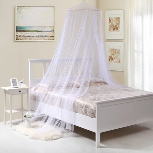 Oasis Round Hoop Bed Canopy