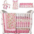 Trend Labs Paisley 7-piece Crib Bedding Set