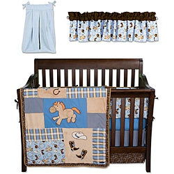 Trend Lab Cowboy Baby 6-piece Crib Bedding Set