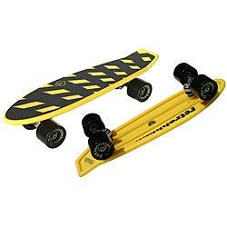 Atom Yellow 21-inch Mini Retroh Molded Skateboard