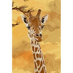 Maxwell Dickson 'Giraffe' Canvas Wall Art