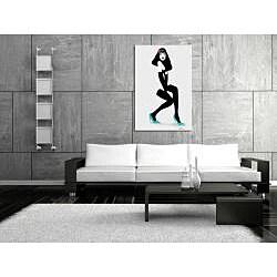 Maxwell Dickson 'Girl Shoes' Canvas Wall Art
