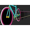 Maxwell Dickson 'Fixie' Canvas Wall Art
