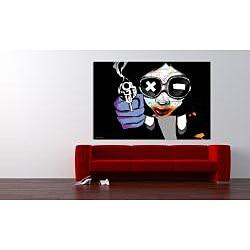 Maxwell Dickson 'Girl Blast' Canvas Wall Art
