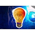 Maxwell Dickson 'Bulb Water' Canvas Wall Art