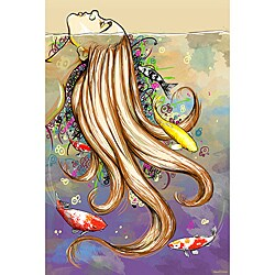 Maxwell Dickson 'Swim Fishes' Canvas Wall Art