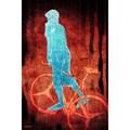Maxwell Dickson 'Bike Man' Canvas Wall Art