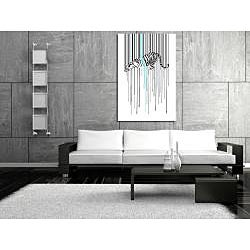 Maxwell Dickson 'Tiger Stripe' Canvas Wall Art