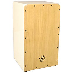 Asian Oak and Sungkai Wood Cajon Drum (Indonesia)