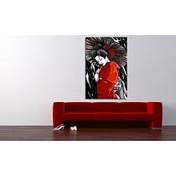 Maxwell Dickson 'Geisha' Canvas Wall Art