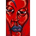 Maxwell Dickson 'Blue Lip' Canvas Wall Art