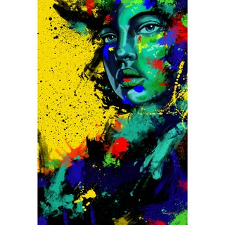 Maxwell Dickson 'Blue Eye Girl' Canvas Wall Art
