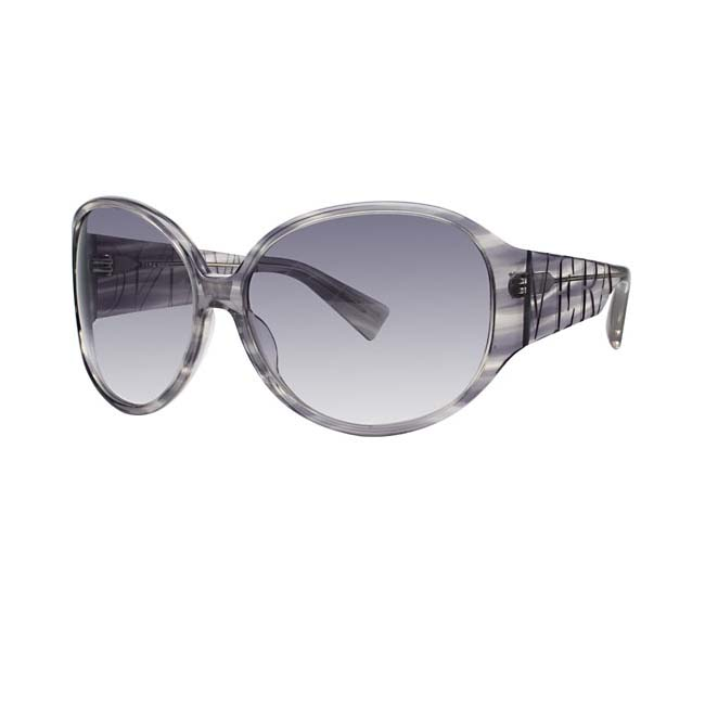 Vera Wang Women's Grey Silk Plastic Sunglasses